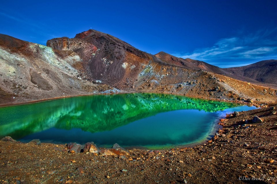 Emerald and Blue Lakes